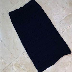 BAR III Black Pencil Skirt